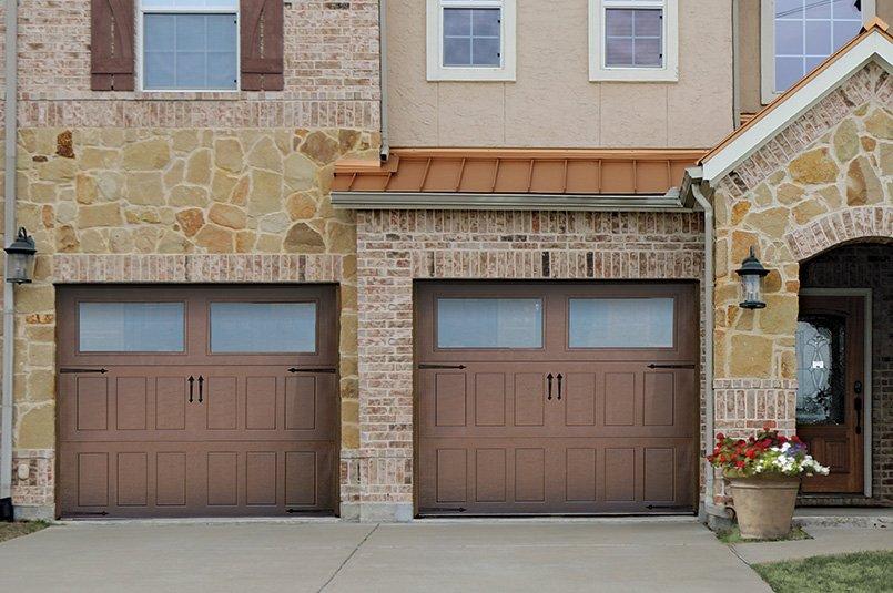 Impression Steel Garage Door - Model 501